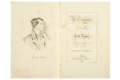 Lot 25-TWO WORKS OF LORD GEORGE GORDON NOEL BYRON Marino ...