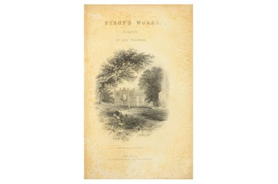 Lot 12-BYRON'S POETICAL WORKS  Byron's Poetical Works...
