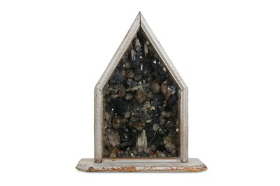 Lot 15-AN EXCEPTIONALLY RARE LATE 19TH CENTURY MINERAL...
