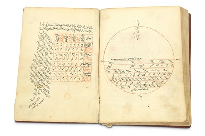Lot 39-AN ASTRONOMY MANUSCRIPT