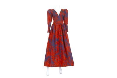 Lot 30-Givenchy Boutique Vintage Gown