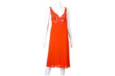 Lot 28-Jean Paul Gaultier Red Dress - size IT 42