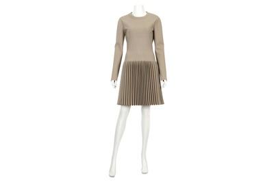 Lot 9-Alaia Taupe Dress - size 44