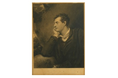 Lot 33-THE RIGHT HON.BLE LORD BYRON Westall (R., after)...