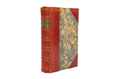 Lot 4-THE POETICAL WORKS OF LORD BYRON Byron's Works...