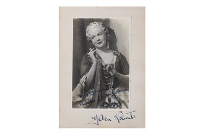 Lot 16-Autograph Album.- Actors & Opera Singers