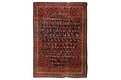 Lot 3-A VERY FINE ANTIQUE SENNEH RUG, WEST PERSIA...
