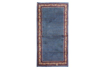 Lot 7-A FINE PART SILK NAIN RUG, CENTRAL PERSIA...