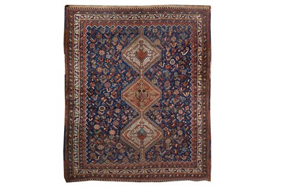 Lot 12-A HAMSEH RUG, SOUTH-WEST PERSIA approx: 6ft.8in....