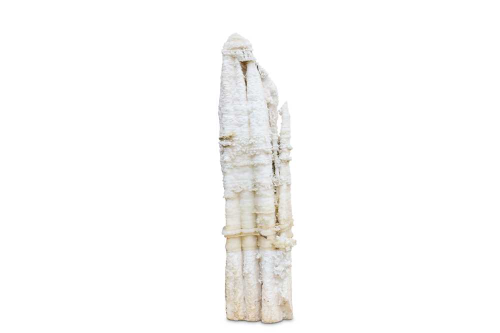 Lot 45-AN EXTREMELY LARGE AND RARE CALCITE STALACTITE, CHINESE