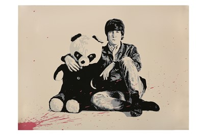 Lot 93-Mr Brainwash (French, b.1966), 'All You Need Is Love (Lennon)'