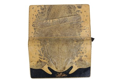 Lot 24-A 1930'S JAPANESE PURSE FORMED FROM A CANE TOAD...