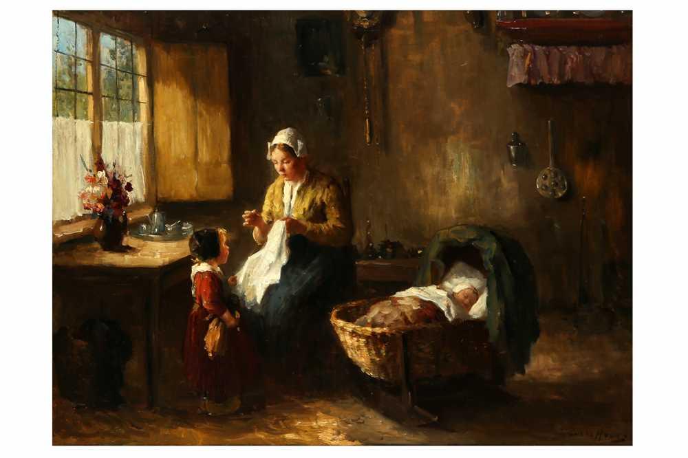 Lot 138-BERNARD DE HOOG (DUTCH 1867–1943)