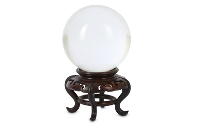 Lot 77-A CHINESE CRYSTAL BALL.