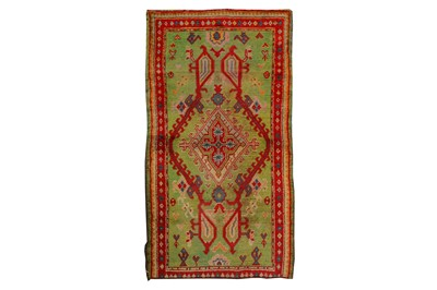 Lot 1-AN ANTIQUE USHAK RUG, TURKEY approx: 5ft.9in. x...