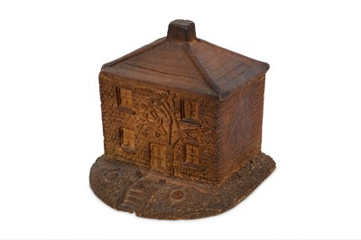 Lot 42-A 19/20TH CENTURY STONEWARE MONEY BOX IN THE FORM ...