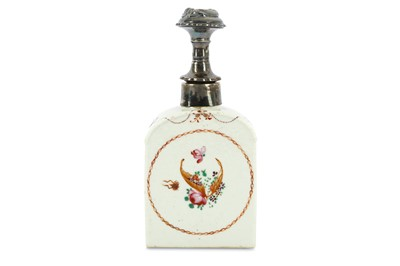 Lot 68-An 18th Century Chinese Export famille rose tea...
