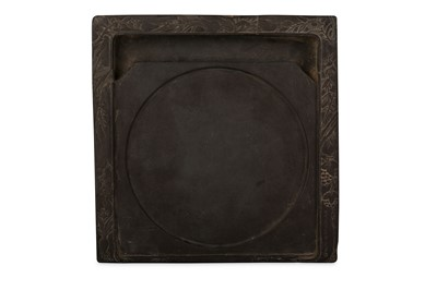 Lot 26 - A CHINESE SQUARE INK STONE.