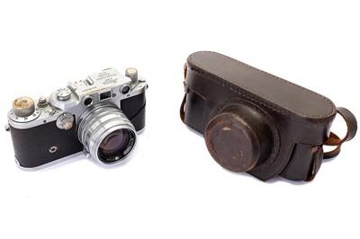 Lot 87-Leica IIIc Rangefinder Camera