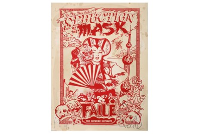 Lot 15-Faile (American, b.1999), 'Seduction of the Mask (Shanghai Mao)'