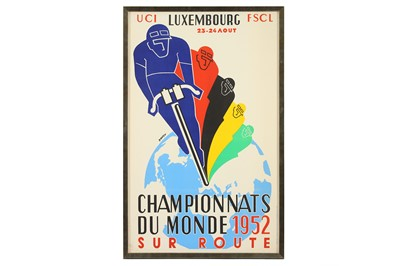 Lot 41-CYCLING INTEREST:  An original poster for the UCI ...