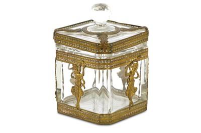 Lot 66-A 19th Century French Empire style gilt ormolu...