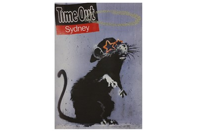 Lot 405-Banksy (British, b.1974) 'Time Out Sydney' Offset ...