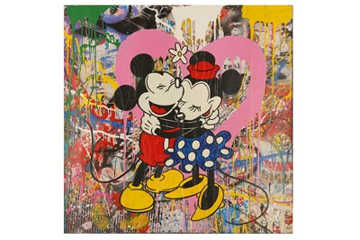 Lot 424-Mr Brainwash (b. 1966) 'Mickey & Minnie' 2015...
