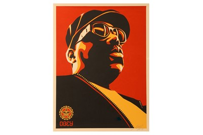 Lot 439-Shepard Fairey (American, b.1970) 'Biggie Red'...
