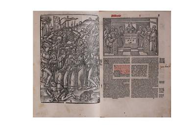 Lot 14-Botany.- Clusius (Carolus, pseud. of L'ecluse, Charles de)