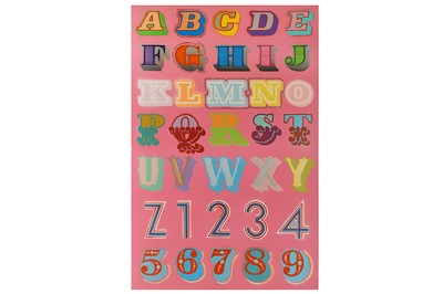 Lot 434-Ben Eine (British, b.1970) '7 Styles Alphabet'...