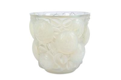 Lot 7-RENE LALIQUE (1860-1945):An 'Oran' Vase,...