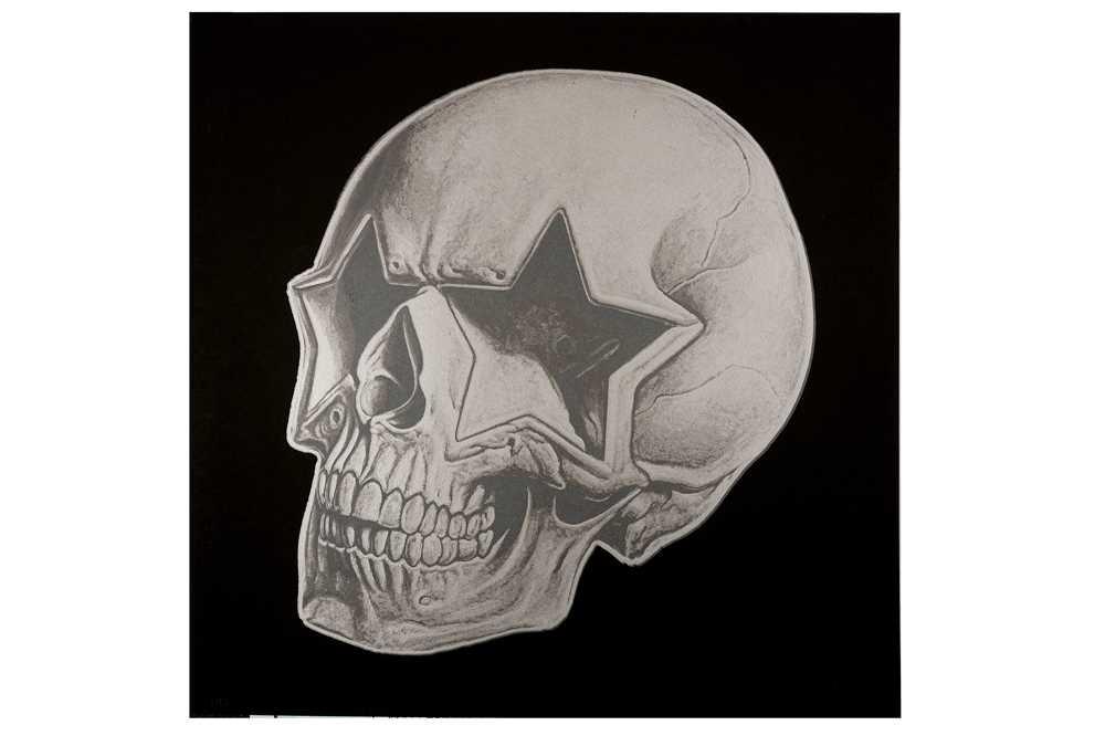 Lot 26-Ron English (American, b.1966), 'Star Skull'