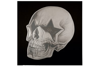 Lot 26-Ron English (American, b.1966), 'Star Skull'