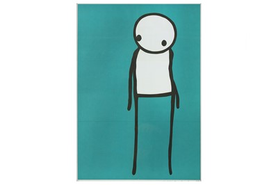 Lot 421-STIK (British, b.1979) 'Deep (Don't Panic)' 2011...