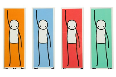 Lot 401-STIK (British, b.1979) 'Liberty (Complete Set)'...
