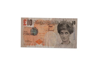 Lot 410-Banksy (British, b.1974) 'Di-Faced Tenner' 2004...