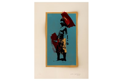 Lot 23-Schoony (British, b.1974), 'Boy Soldier (Special Edition, Hand Finished)'