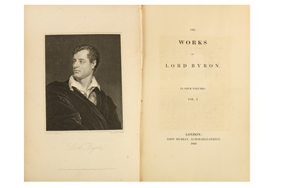 Lot 28-A SELECTION OF WORKS OF LORD BYRON The Works...