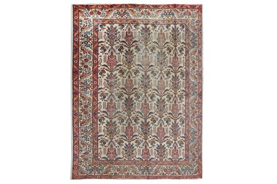 Lot 29-A TABRIZ CARPET, NORTH-WEST PERSIA approx:...