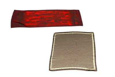 Lot 42-Two Designer Scarves