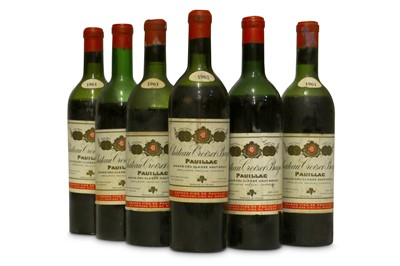 Lot 82-Chateau Croizet-Bages 1961