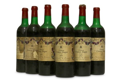 Lot 83-Chateau Croizet-Bages 1962