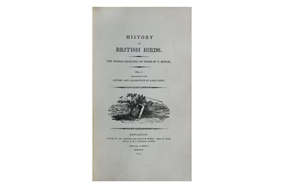Lot 2-Bewick (Thomas) History of British Birds...,...
