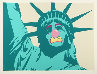 Lot 403-D*Face (British b.1978) 'Statue Of Liberty' 2008...