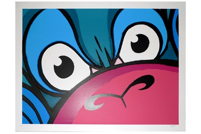 Lot 61-Mighty Mo (British, b.1985), 'Mighty Monkey (Blue Edition)'