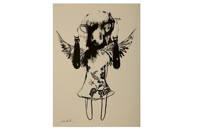 Lot 13-Antony Micallef (British, b.1975), 'Light Angel Bomber II'