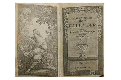 Lot 77-Almanach de Gotha.