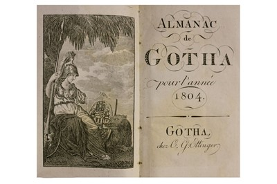 Lot 304-Almanach de Gotha.