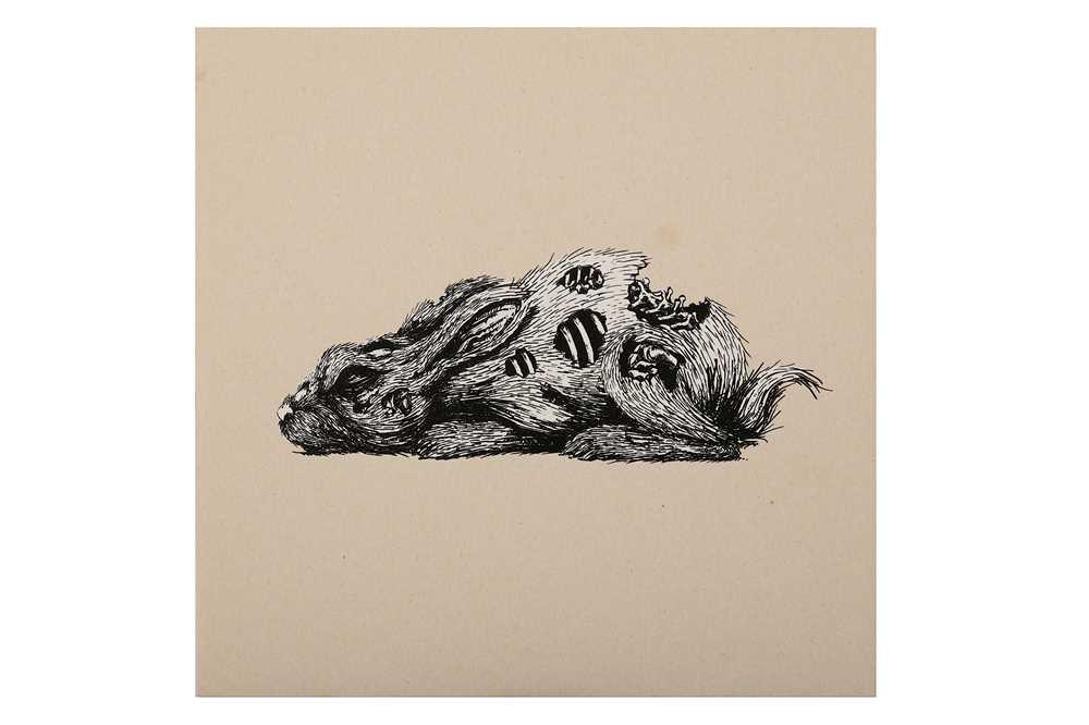 Lot 11-ROA (Belgian, b.1976), 'Year Of The Rabbit'